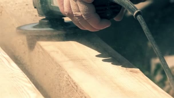 Woodworking slow motion motion