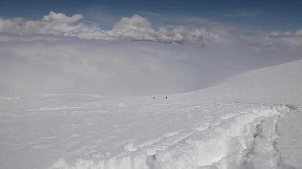 dva horolezci na hory
