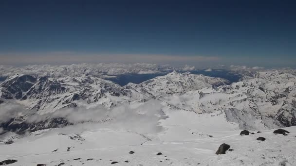 on the eastern peak of Elbrus (caucasus)