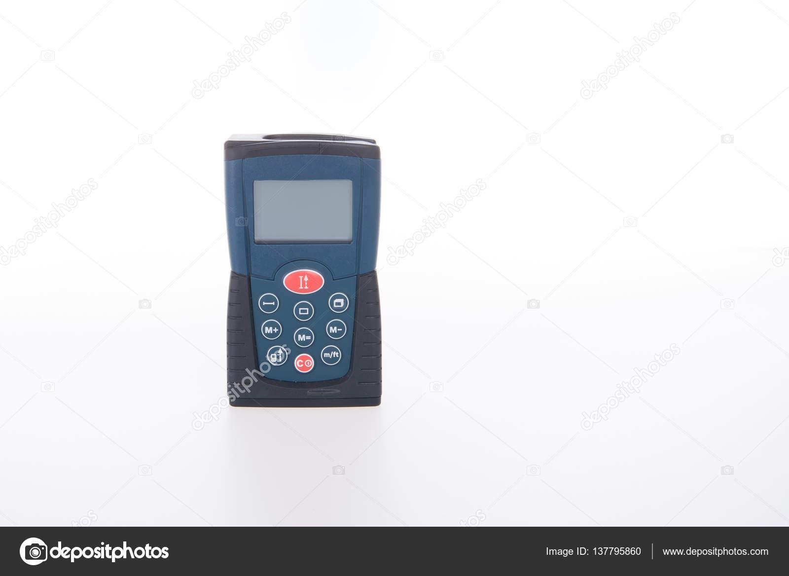 Entfernungsmesser Für Handy : Architektonischen werkzeug oder laser entfernungsmesser auf einem