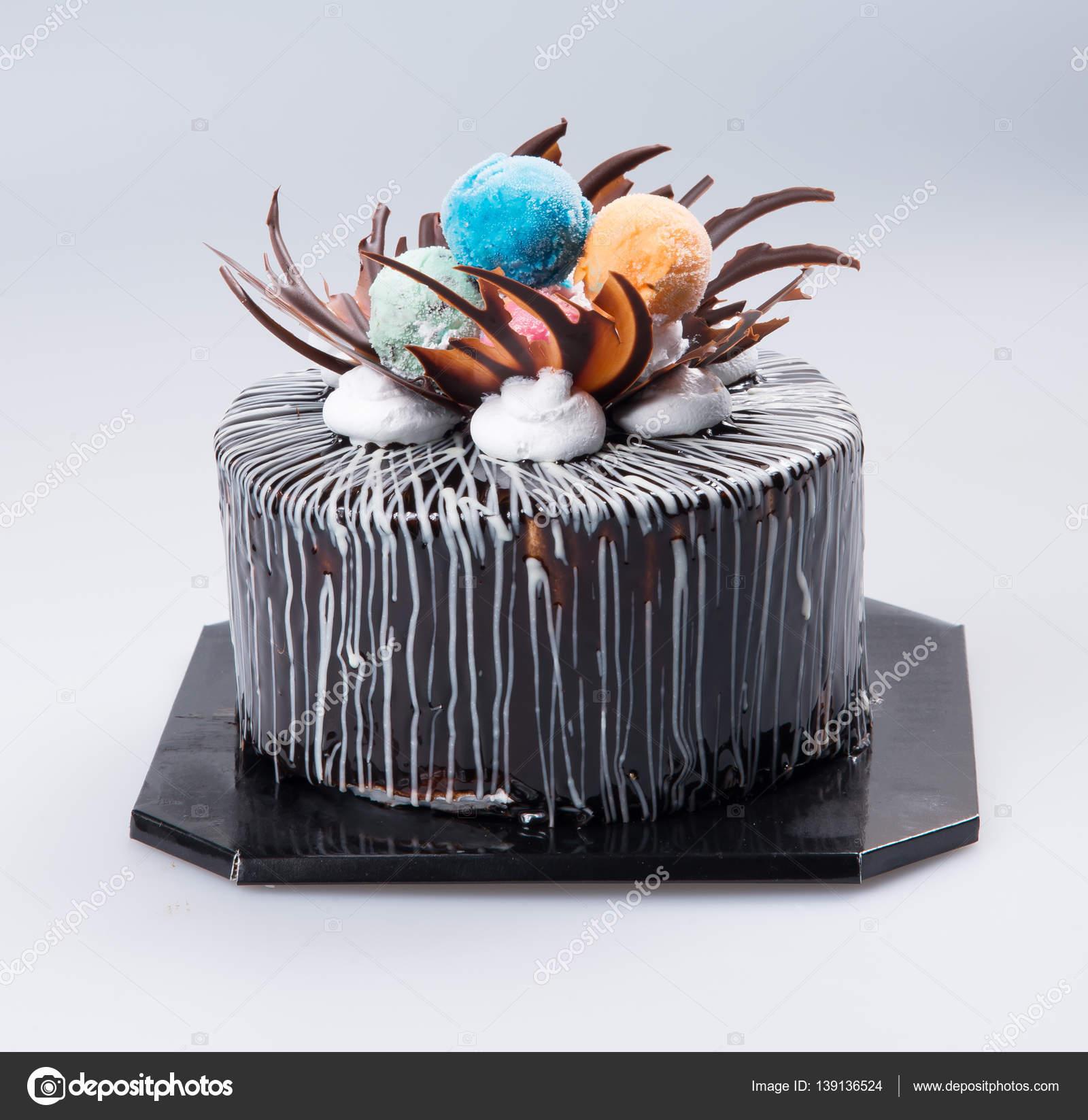 Kuchen Oder Torte Fur Einen Urlaub Auf Einem Hintergrund Stockfoto