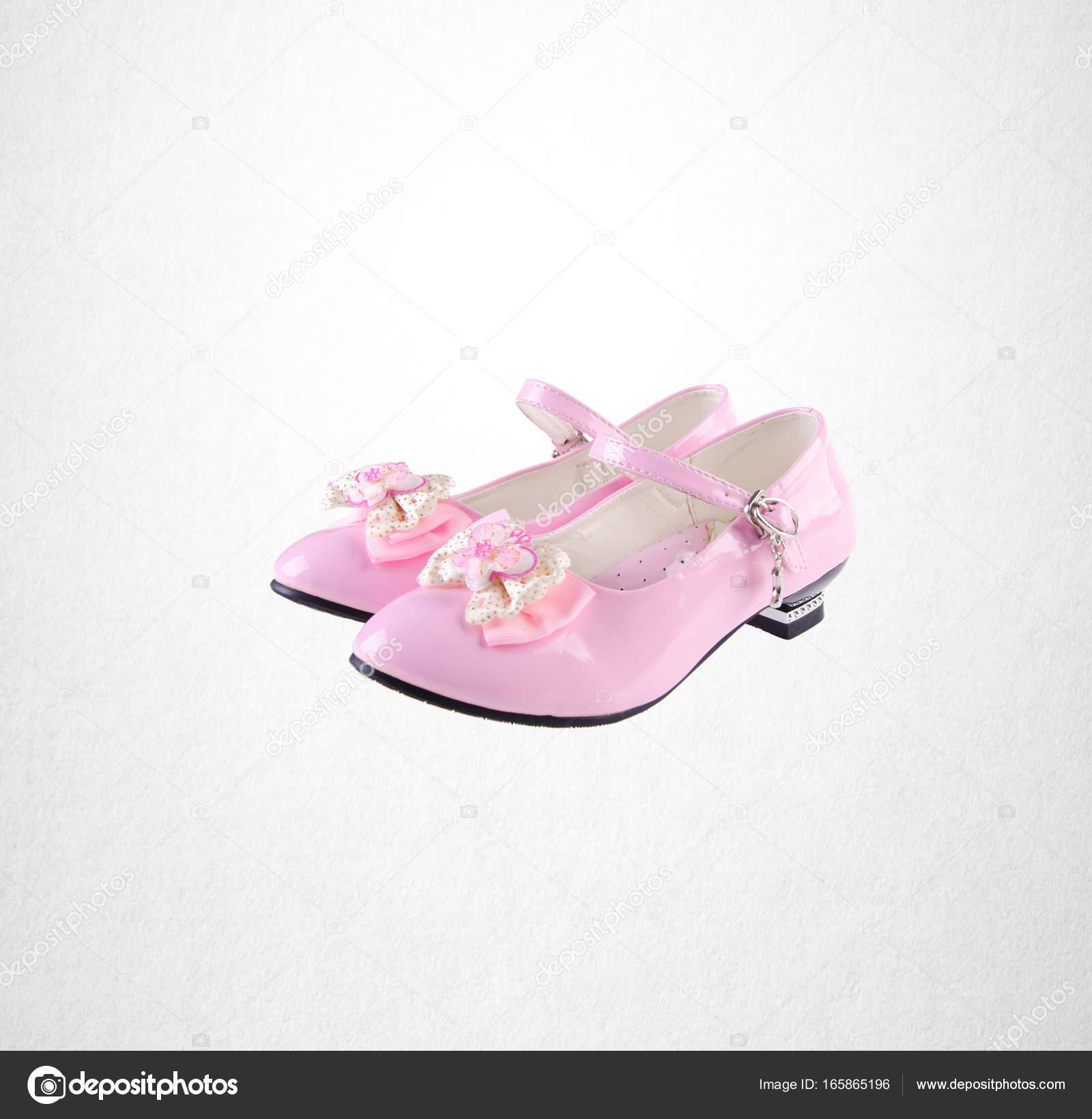 Petite Rose Sur Chaussure Fille Chaussures Couleur Fond ED29HI