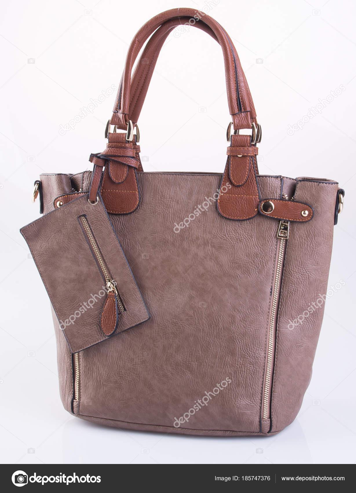 stock bolsa de marrón Foto fondo mujer de de sobre o bolso cuero CPOBwZFqC