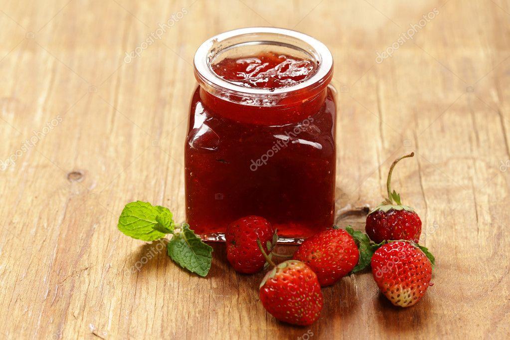 confiture de fraise naturelle