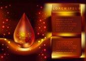 Kolagenové sérum a vitaminů. Kosmetické péče o pleť