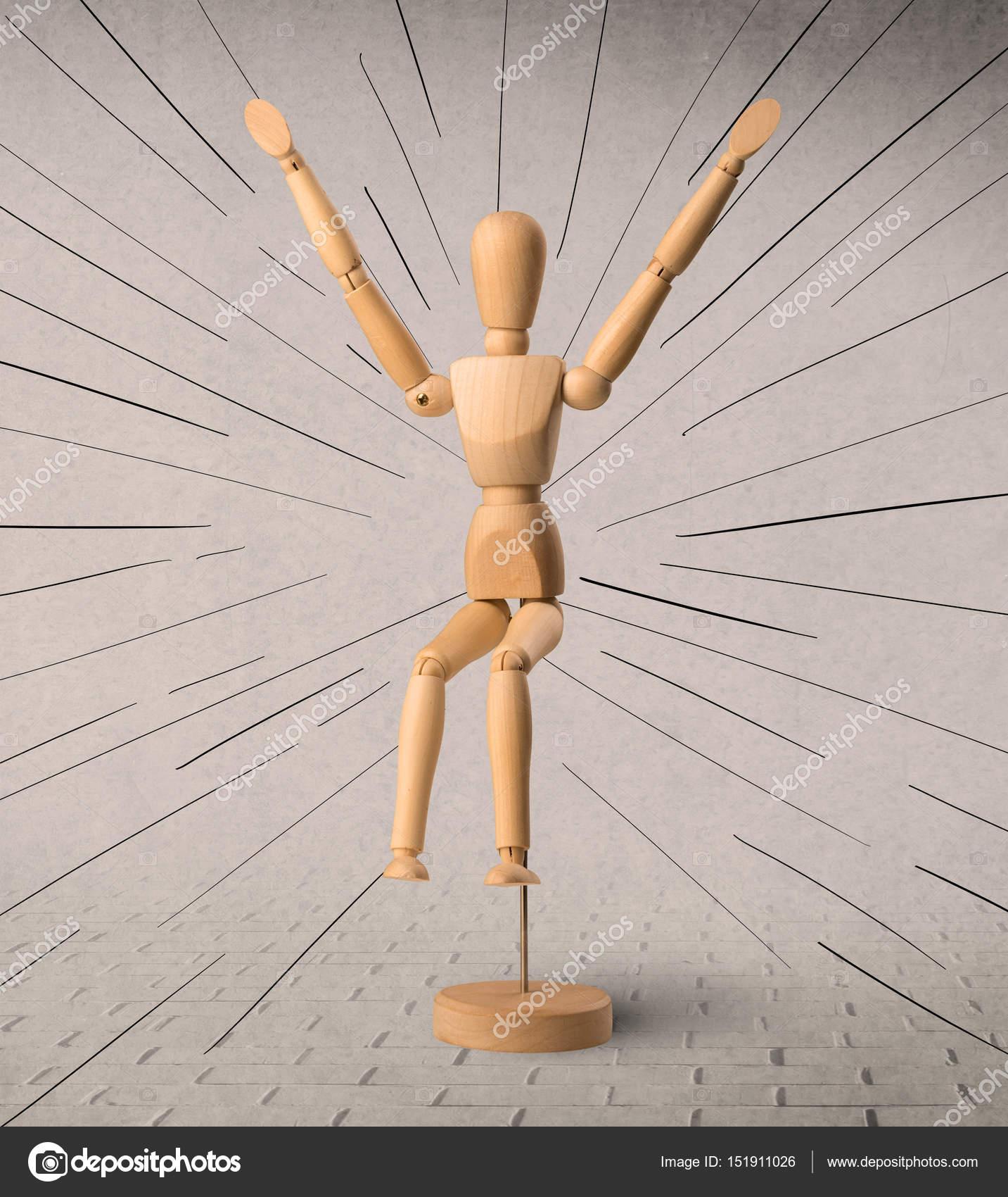 concept de mannequin en bois — photographie ra2studio © #151911026