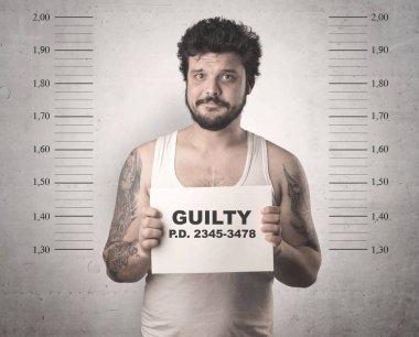 Criminal offender man