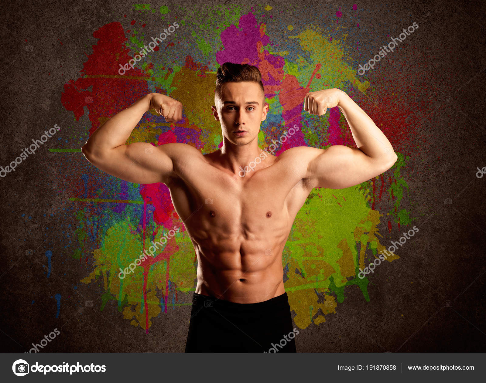 Boy muscle pictures