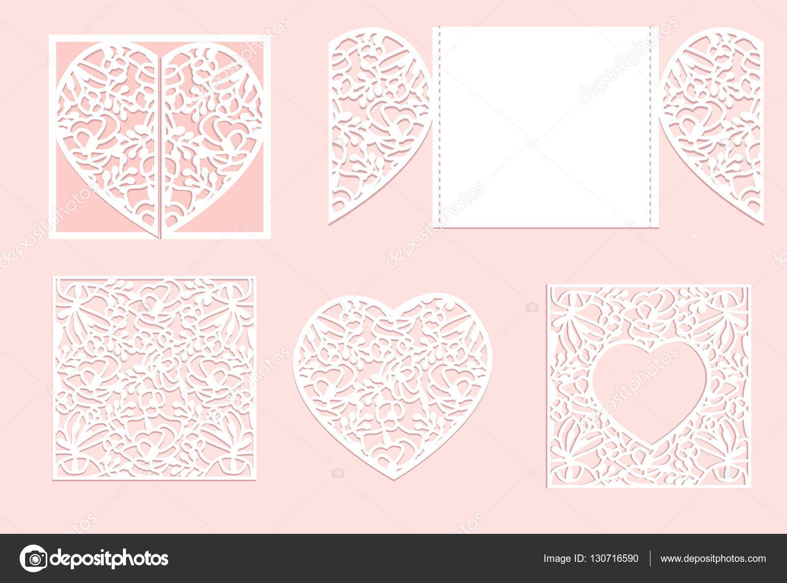 d coupage du papier coeur vecteur coeur blanc en papier d coup au laser vector image. Black Bedroom Furniture Sets. Home Design Ideas