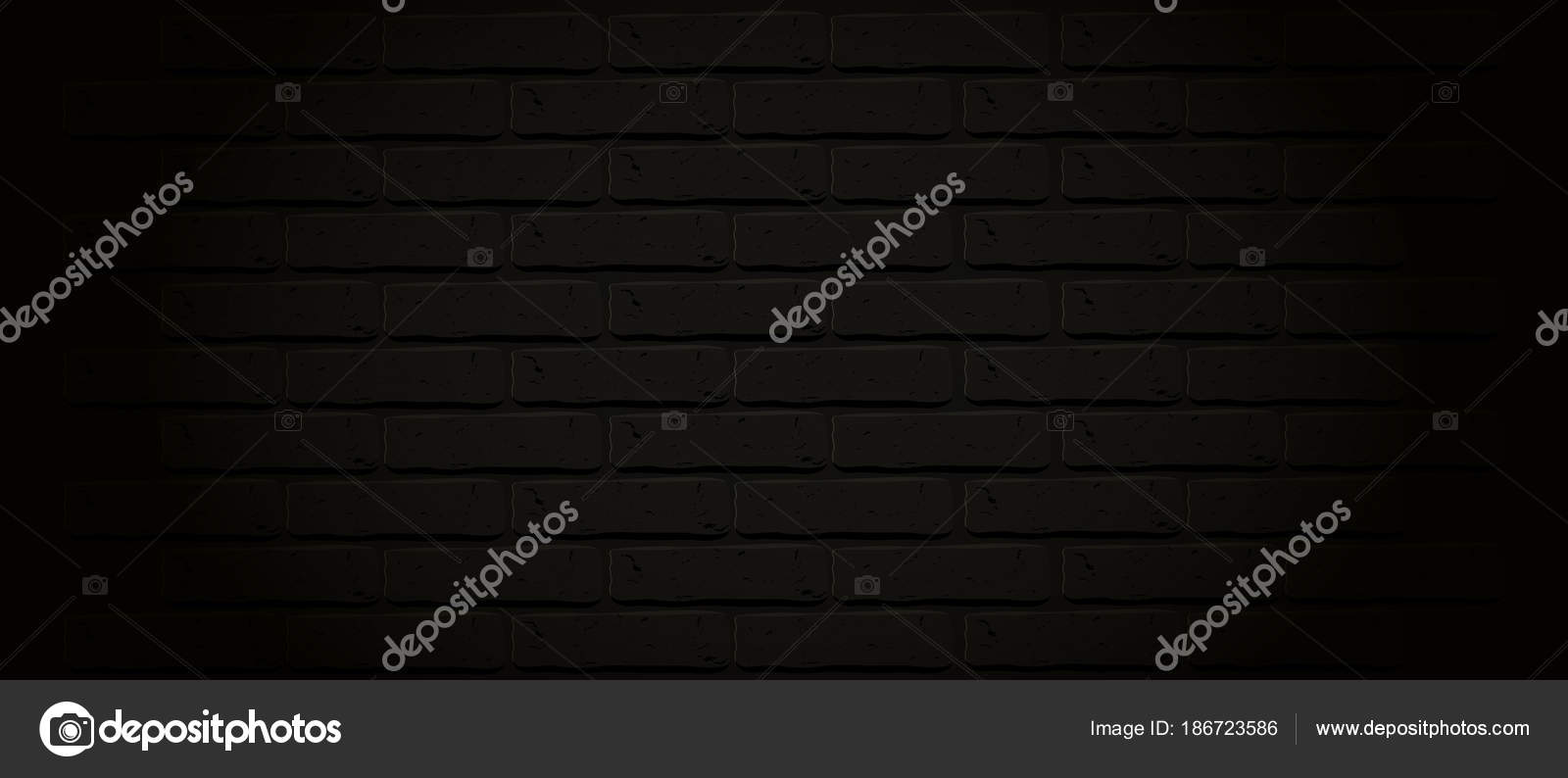 Grunge Dark Wallpaper Vintage Stonewall Street City Basic Illustration For Banners Isolated Rough Clean Rocks Backdrop Night Fog Vector By Alenaspl