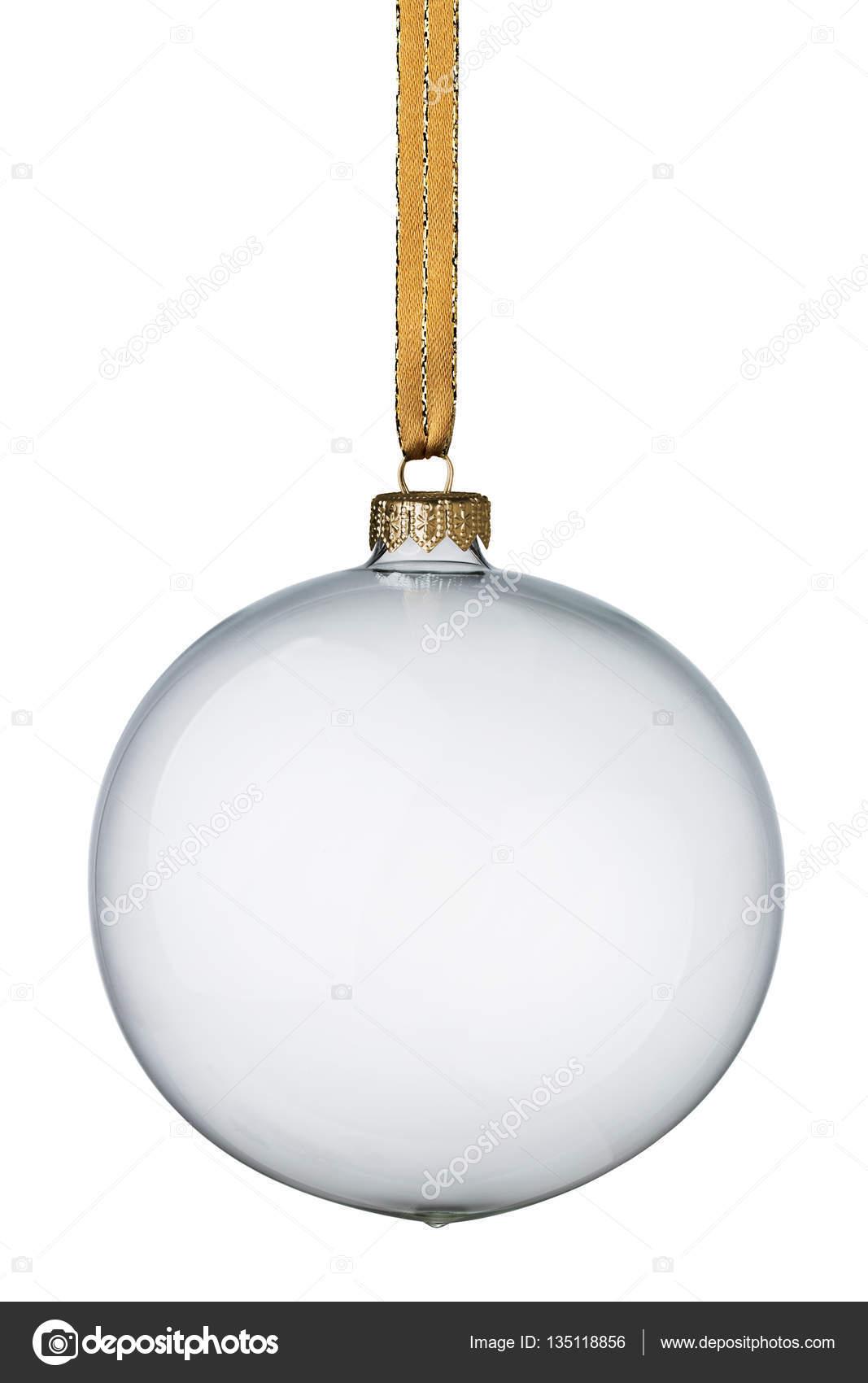 Foto Bola Transparente Bola De Navidad Transparente Foto De - Bolas-de-navidad-transparentes