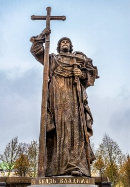 Monument to Holy Prince Vladimir the Great in Moscow
