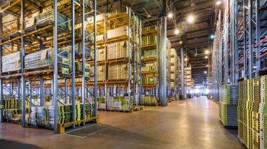 Modern large warehouse