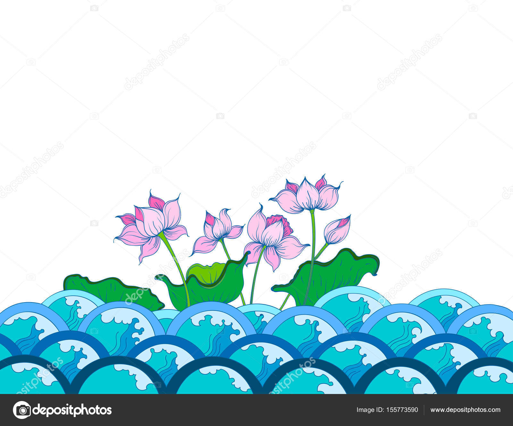 Colors lotus flowers art pattern stock vector mapichai 155773590 colors lotus flowers art pattern stock vector mightylinksfo