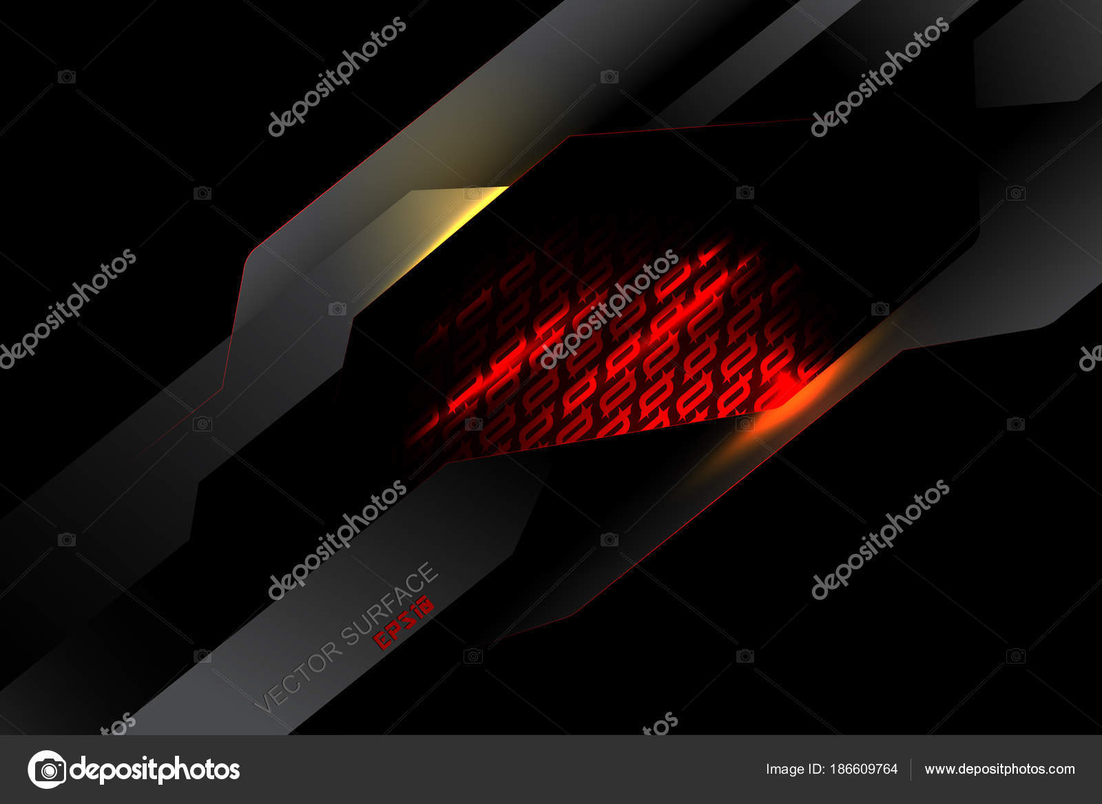 Wallpapers Light Red Red Light Metal Surface Dark Scene
