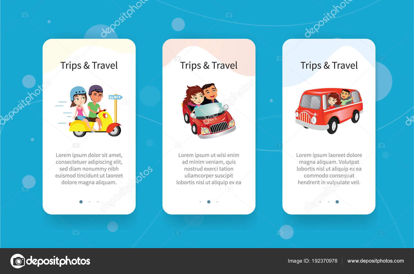 Sablona Jezdec Karet Dva Cestujici Na Motorky Auta A Minibus