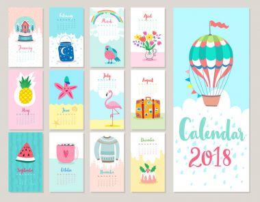 Christmas Calendar 2018.