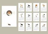 Fotografie Dog Kollektion Kalender 2018 Abdeckung mit Chihuahua