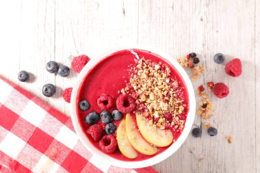 smoothie bowl,above