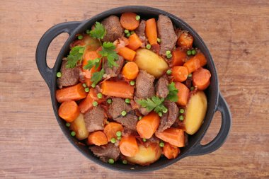 beef and carrot