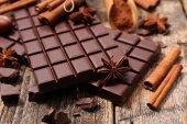 čokolády a koření