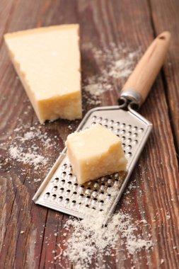 Crunchy parmesan cheese