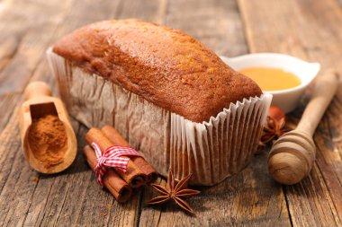 handmade gingerbread cake
