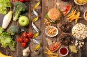 Se zdravou výživou nebo nezdravé jídlo