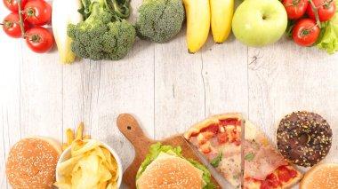 alimentation food concept