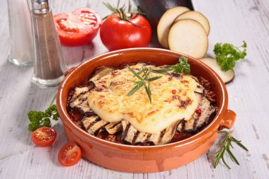 moussaka,gratin,  greek dish