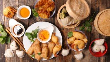 variety of asian cuisine