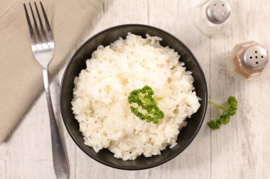bowl of boiled rice