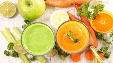 vegetable juice,smoothies