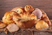 kenyér és péksütemény közelről