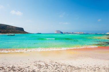 Beautiful beach lagoon, Crete, Greece