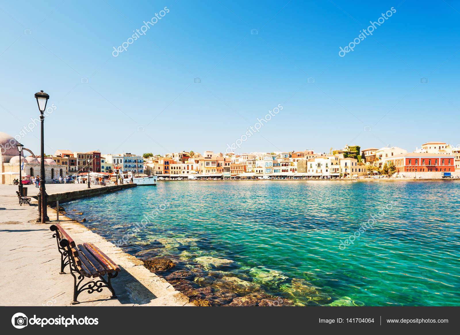 Chania Crete Island Greece Stock Photo C Smallredgirl