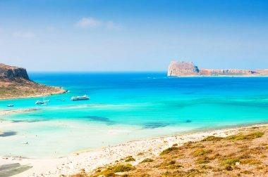 Balos beach in Crete island, Greece