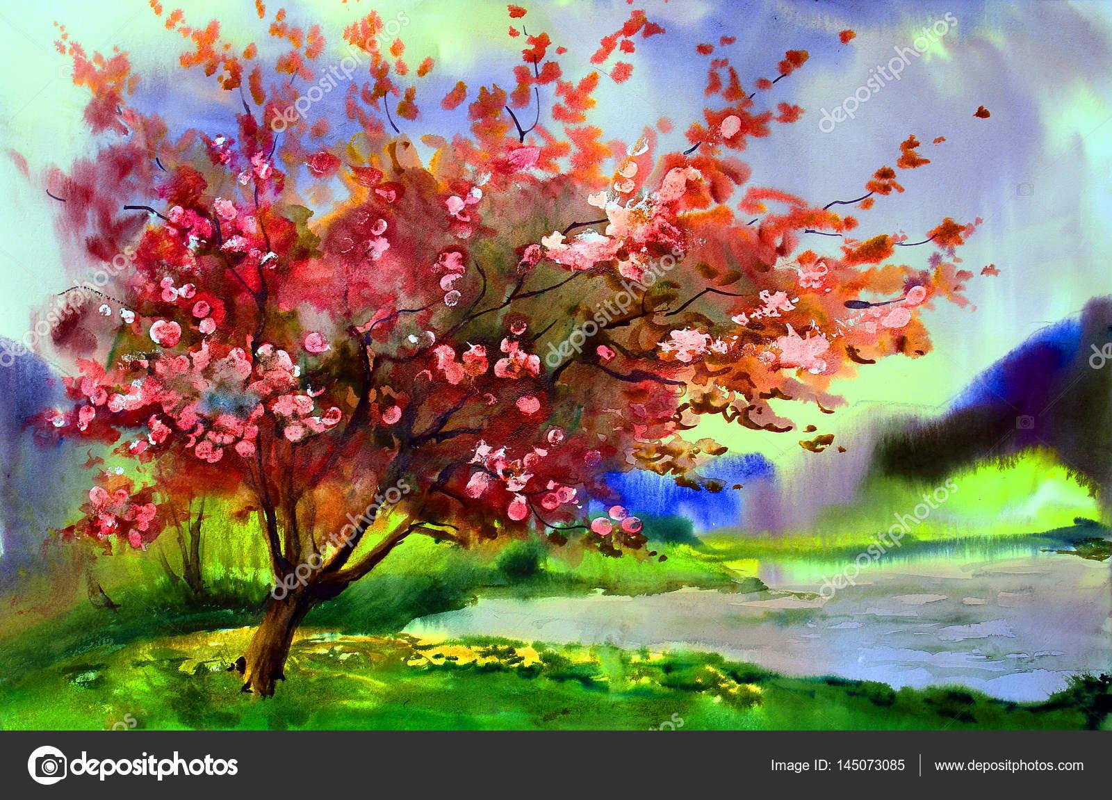Estremamente Paesaggio Primaverile Albero | Collection 16+ Wallpapers JZ23