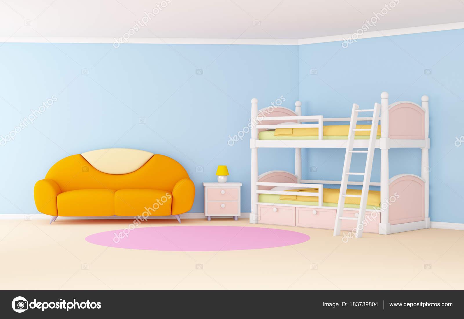 Gordijnen slaapkamer kind eenvoudig blauw kamer gordijnenkoop