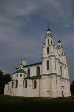 Sophia Cathedral in Polotsk. Belarus