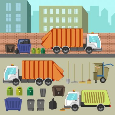 Trash recycling and removal