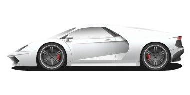 modern expensive sport car