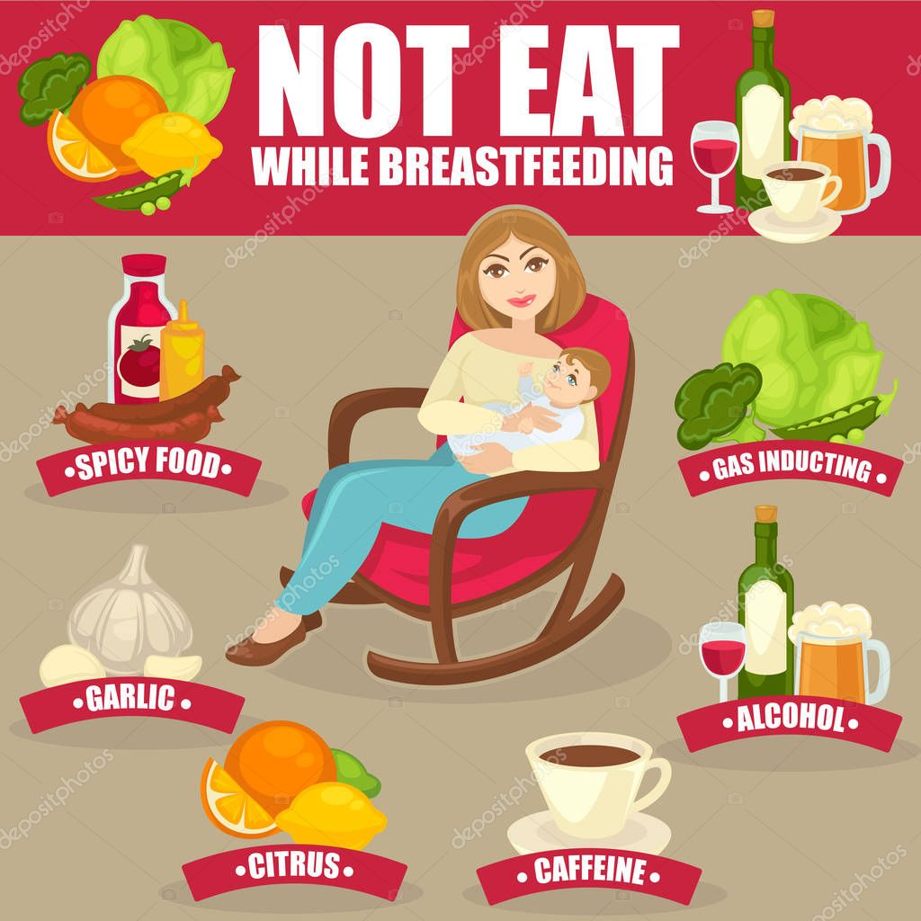 Which Foods To Avoid While Breastfeeding