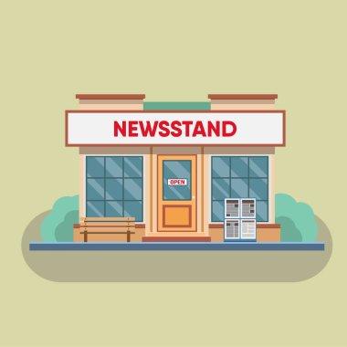 exterior of old Newsstand