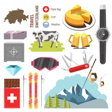 Switzerland travel collection