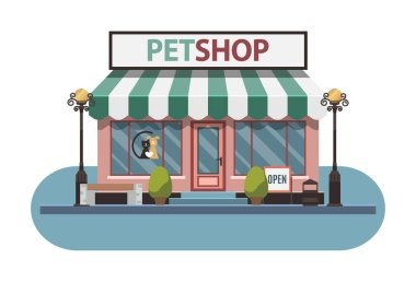 Veterinary pet shop for animals