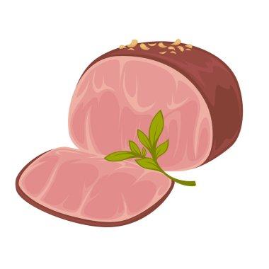 Icon of smoked pork