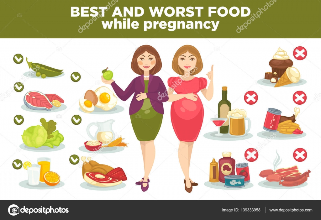 The Worst Foods To Eat While Pregnant