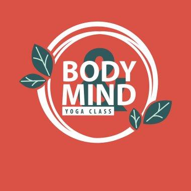 Yoga concept design logo