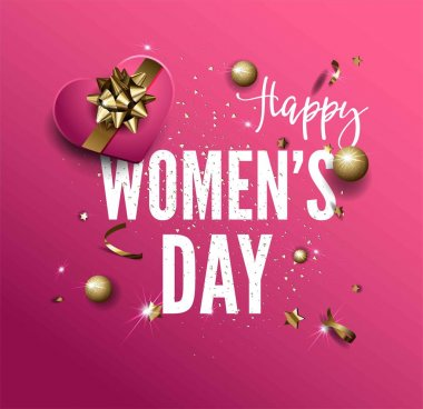 Women Day greeting card